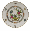 "Herend Indian Basket Bread & Butter Plate  6""D"