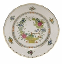 "Herend Indian Basket Dessert Plate  8.25""D"