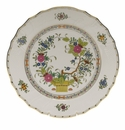"Herend Indian Basket Dinner Plate  10.5""D"