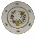 "Herend Indian Basket Service Plate  11""D"