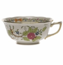 Herend Indian Basket Tea Cup  (8 Oz)