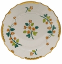 "Herend Livia Rust Dinner Plate  10.5""D"