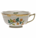 Herend Livia Rust Tea Cup  (8 Oz)