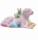 Herend Porcelain Dog Figurines