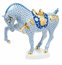 Herend Porcelain Horse Figurines