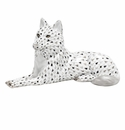 Herend Porcelain Wolf Figurines