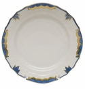 "Herend Princess Victoria Blue Bread & Butter Plate 6""D"