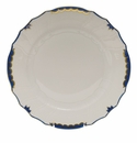 "Herend Princess Victoria Blue Dinner Plate 10.5""D"