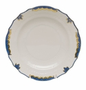 "Herend Princess Victoria Blue Salad Plate 7.5""D"