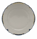 "Herend Princess Victoria Blue Service Plate 11""D"