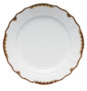 "Herend Princess Victoria Brown Service Plate 11""D"