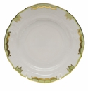 "Herend Princess Victoria Green Bread & Butter Plate 6""D"