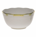 "Herend Princess Victoria Green Round Bowl (3.5 Pt) 7.5""D"