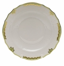 "Herend Princess Victoria Green Salad Plate 7.5""D"