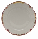 "Herend Princess Victoria Pink Service Plate 11""D"