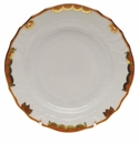 "Herend Princess Victoria Rust Bread & Butter Plate 6""D"