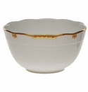 "Herend Princess Victoria Rust Round Bowl (3.5 Pt) 7.5""D"