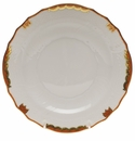 "Herend Princess Victoria Rust Salad Plate 7.5""D"