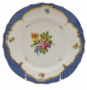 Herend Printemps With Blue Border Bread & Butter Plate - Motif 01 6