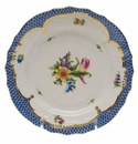 Herend Printemps With Blue Border Bread & Butter Plate - Motif 03 6