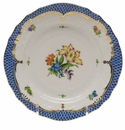 Herend Printemps With Blue Border Bread & Butter Plate - Motif 05 6