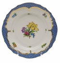 Herend Printemps With Blue Border Bread & Butter Plate - Motif 06 6