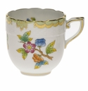 Herend Queen Victoria After Dinner Cup (3 Oz) - Green Border