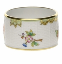 "Herend Queen Victoria Napkin Ring  2.25""D - Green Border"