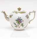 Herend Queen Victoria Princess Charlotte Limited Edition Tea Pot