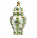 Herend Queen Victoria Covered Urn 14""