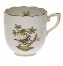 Herend Rothschild Bird After Dinner Cup (3 Oz)