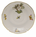 "Herend Rothschild Bird After Dinner Saucer 4.5""D"