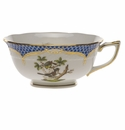 Herend Rothschild Bird Blue Border Tea Cup - Motif 01 (8 Oz)