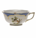 Herend Rothschild Bird Blue Border Tea Cup - Motif 10 (8 Oz)
