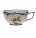 Herend Rothschild Bird Blue Border Tea Cup - Motif 11 (8 Oz)