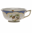 Herend Rothschild Bird Blue Border Tea Cup - Motif 12 (8 Oz)