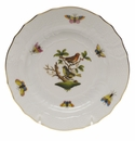 Herend Rothschild Bird Bread & Butter Plate - Motif 03 6