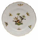 Herend Rothschild Bird Bread & Butter Plate - Motif 05 6