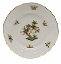 Herend Rothschild Bird Bread & Butter Plate - Motif 11 6