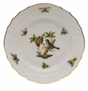 Herend Rothschild Bird Bread & Butter Plate - Motif 12 6