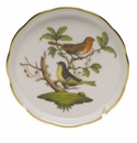 "Herend Rothschild Bird Coaster - Motif 03 4""D"