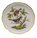 "Herend Rothschild Bird Coaster - Motif 04 4""D"