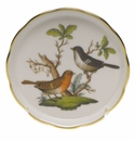 "Herend Rothschild Bird Coaster - Motif 05 4""D"