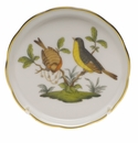 "Herend Rothschild Bird Coaster - Motif 07 4""D"