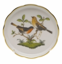 "Herend Rothschild Bird Coaster - Motif 09 4""D"