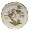 "Herend Rothschild Bird Coaster - Motif 11 4""D"