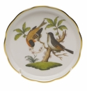 "Herend Rothschild Bird Coaster - Motif 12 4""D"