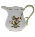 "Herend Rothschild Bird Creamer  (4 Oz) 3.25""H"
