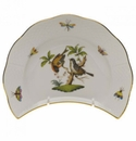 "Herend Rothschild Bird Crescent Salad  7.25""L X 5""W"