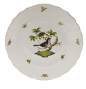 "Herend Rothschild Bird Dinner Plate - Motif 01 10.5""D"